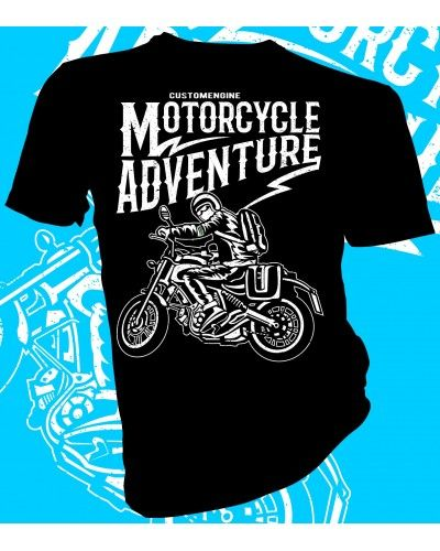 0bb01f90de44 Motorcycle Adventure biker t-shirt design. #lahfabrics #fashion #style #art  #gifts #design #graphicdesign #tee #tshirt #womensfashion #menswear  #streetstyle ...