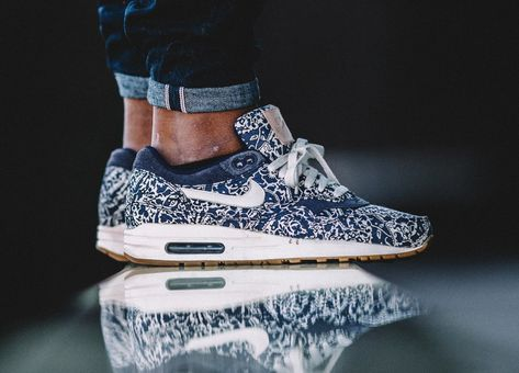 huge selection of 334cd e2c2f Liberty x Nike Air Max 1 ND wmns - Imperial PurpleSail (by marvinhilt)
