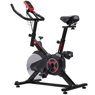 Details About Electric Exercise Bike 22lb Flywheel Digital Monitor