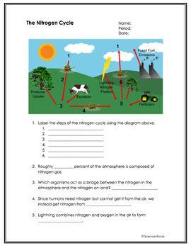 Biogeochemical Cycles Worksheets Cycle Solar Energy Diy