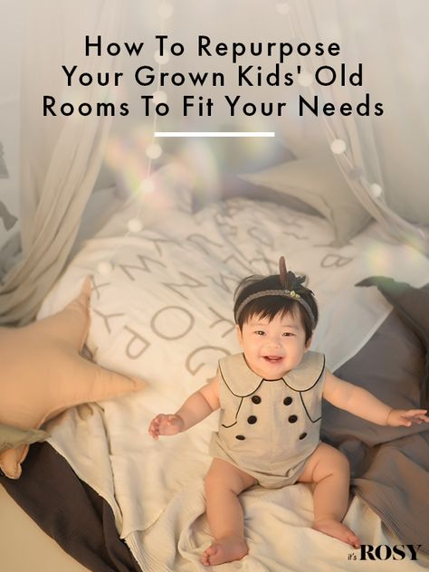 Once the kids have launched, your home can feel quite empty. When you have gotten over that, get to work deciding how you can best utilize your home to work for you and your new lifestyle. Plus, repurposing their old room might also act as a deterrent for them to move back in — don't let the boomerang hit you!