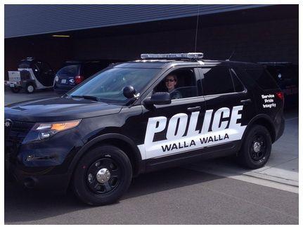 Wa Walla Walla Police Department Police Cars Police Police Department
