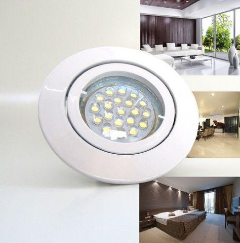 ifttt 1UtIcIr 12er-Set LED Einbaustrahler PAGO 230V Farbe - led einbaustrahler badezimmer