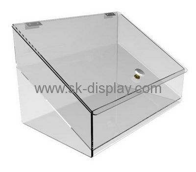 Acrylic Box Factory Customize Clear Plastic Display Case Acrylic Box With Lid Dbs 251 Plastic Display Cases Acrylic Display Case Acrylic Box