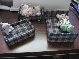 Calico Critter Furniture How To Make Your Own The Biblical Homemaker By Two Homeschooled Girls Craft For May Calico Critters Furniture Crafts Doll Crafts