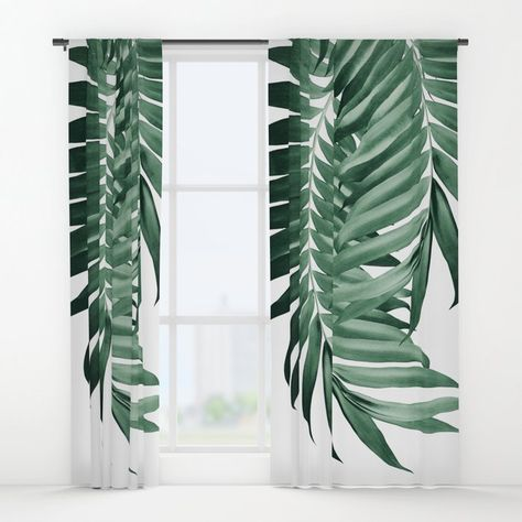 Palm Leaves Tropical Green Vibes 4 Tropical Decor Art