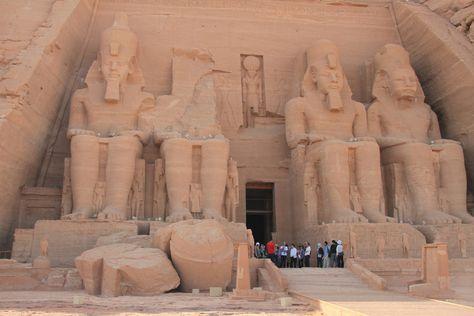Temple of Ramesses II - Abu Simbel,  Egypt - Photo