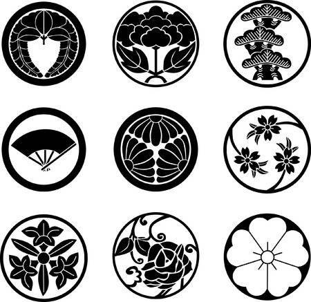 15++ Japanese motifs ideas