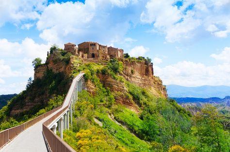 Bagnoregio Lazio Italy Italia Countryside Italia Bel Paese