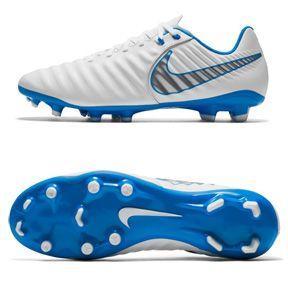 Nike Tiempo Legend 7 Academy Fg Soccer Shoes White Blue Https Www Soccerevolution Com Store Products Nik Nike Soccer Shoes Soccer Cleats Nike Soccer Shoes