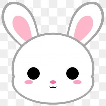 Cartoon White Bunny Head Cartoon Clipart Cartoon Icons White Icons Png Transparent Clipart Image And Psd File For Free Download Cartoon Clip Art Black And White Cartoon Animal Clipart