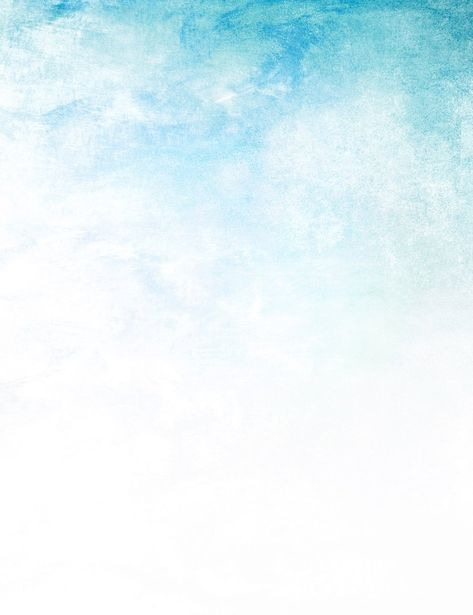 Abstract Painted Light Blue Sky Photography Backdrop J-0626