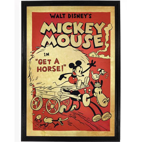 Film Cartoon Poster Retro Home Wall Decor Cool Gift Fan Disney Tin Metal Sign
