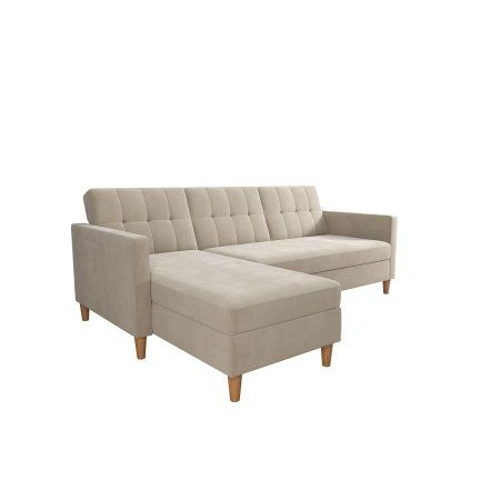 Marvelous Dhp Hartford Storage Sectional Futon With Chaise Multiple Alphanode Cool Chair Designs And Ideas Alphanodeonline