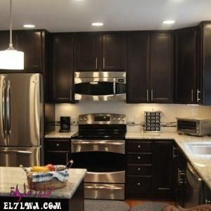 ديكورات مطابخ 2021 صور مطابخ سوف نتعرف سوي ا عبر هذا المقال على ديكورات مطابخ 2021 يعد المطبخ من أهم الغرف الت Kitchen Cabinets Kitchen Design Trendy Kitchen