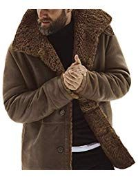 zhuke Chaqueta De Cuero para Hombre Abrigo De PU Cuello Alto Delgado Hombres Oto/ñO Invierno Chaquetas Casuales De Negocios para Hombre Abrigo C/áLido Derrick Aled k