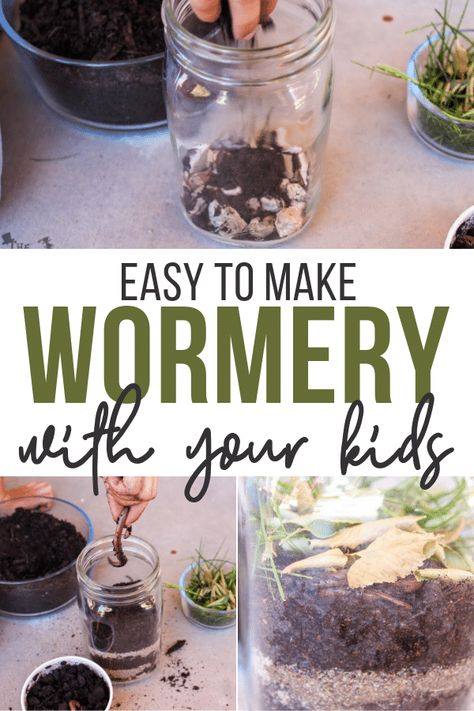 Making your own wormery can be a fun way to learn about worms and how they help the earth! Come see how and print out some fun worm facts!