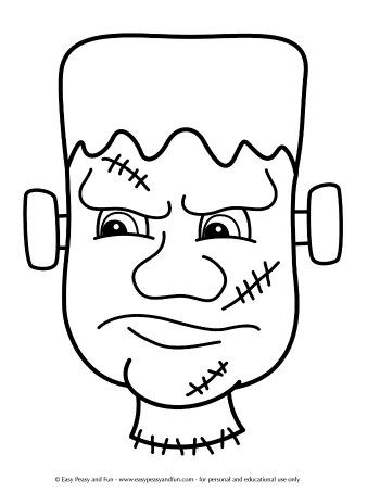 Halloween Coloring Pages Easy Peasy And Fun Halloween Coloring Halloween Coloring Pages Monster Coloring Pages