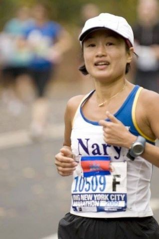 Cambodia's long distance runner Dr. Nary Ly is keen to represent the country in the 2016 Rio Olympic Games. The Phnom Penh born Research Scientist who recently broke the 3h mark in Valencia marathon will be competing in Track & Field Women's Marathon on August 14.