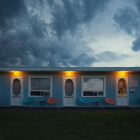Cheap Motels by Benoit Paille . Be Inspired by Lindsay at Shrimp Salad Circus Bates Motel Season 4, Cheap Motels, Motel Room, Villa, Gothic Aesthetic, American Gothic, Anna, Outdoor Structures, Inspiration