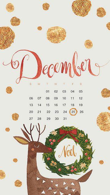 December 2015 Iphone Christmas Phone Wallpaper Wallpaper Iphone Christmas December Wallpaper