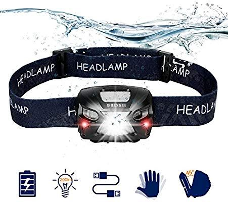 Rechargeables Frontales Super Brillants Led Lampes Shenkey phares hdrsQCt