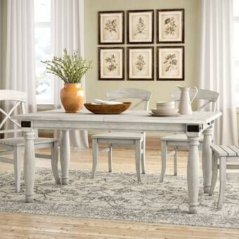 Westmont Solid Wood Dining Table Extendable Dining Table Solid