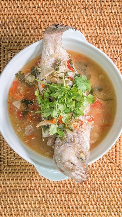 Kerapu Steam Lime Ala Thailand Resep Resep Makanan Dan Minuman Resep Sup Ikan