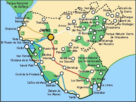 Sierra De Grazalema Mapa.Ruta De Los Pueblos Blancos En Andalucia Kolfinna J