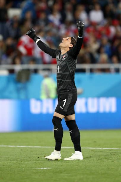 Yann Sommer Of Switzerland Celebrates His Team S Second Goal During The 2018 Fifa World Cup Russia Group E Match Between Serbi Celebrities Goals Fifa World Cup