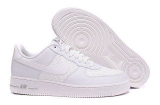 Nike Air Force 1 Low 07 LV8 Summit Triple White Woven 718152