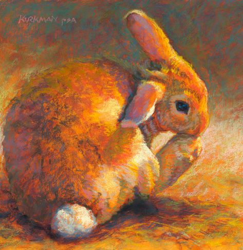 Ginger Bun Pastel On Paper 8x8 Inches Success The Canson Smooth Bristol Paper I Found Out Today Is Capable Of Being Wet And S Malerier
