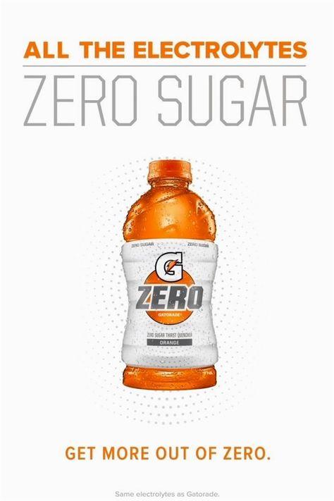 All The Electrolytes Of Gatorade With Zero Sugar In 2020 Gatorade Electrolytes Easy Workouts