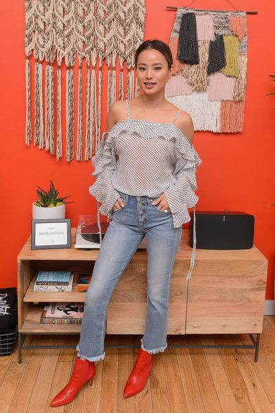 Jamie Chung attends the WeWork Congress during SXSW 2018.