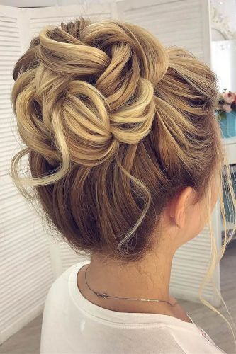 Check Out This High Bun Hairstyle Hair Styles Hairdo Wedding Wedding Bun Hairstyles