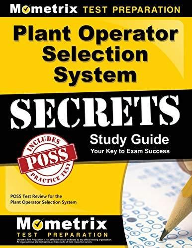 Pdf Download Plant Operator Selection System Secrets Study Guide