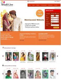 Ive Developed A Brand New Frontend Design For Matrimonial Websites - Matrimonial website templates