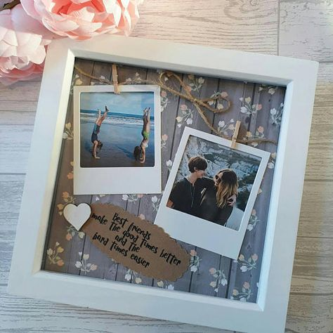 This handmade, personalised scrabble frame makes the perfect gift for a friends birthday, For your Treasured Bridesmaid, or just because! Its a beautiful keepsake to celebrate your friendship, And a great way to tell your loved ones what they mean to you. To make this a truly