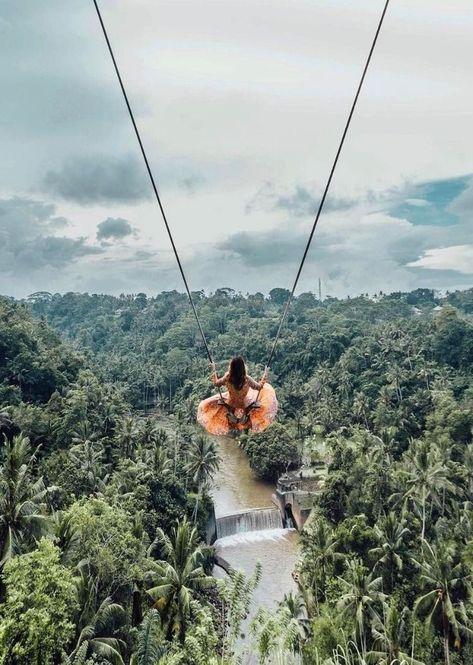 7 amazing Swings around the World with Insane views — Steemit 7 amazing Swings around the World with Insane views — Steemit,adventure Ubud swing Bali, Indonesia Voyage Bali, Destination Voyage, Places To Travel, Travel Destinations, Places To Go, Bali Travel, Travel Aesthetic, Aesthetic Girl, Photo Location