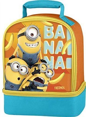 05d0b528f7b2 Despicable Me 3 Minions Lunch Bag Thermos Dual Compartment lunchbox ...