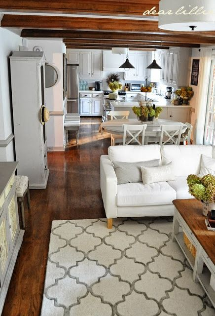 Pin By Lacey Daugherty On For The Home In 2021 Small Living Dining Living Room Dining Room Combo Dining Room Combo