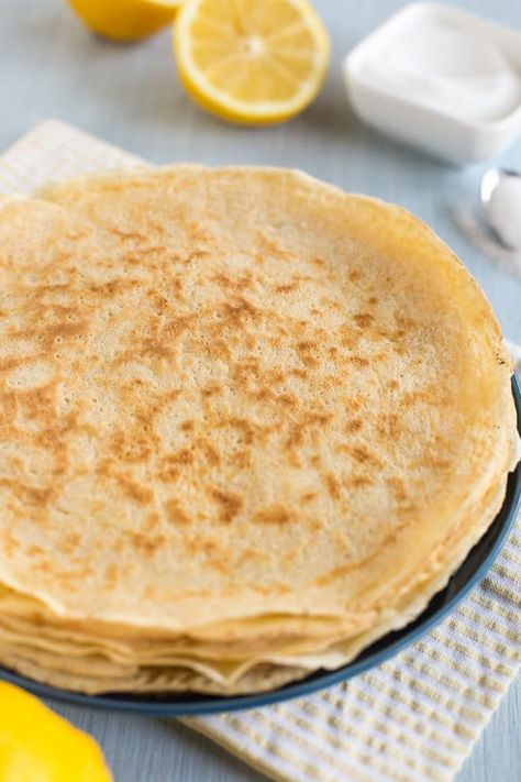How to make traditional British pancakes (authentic English recipe!)