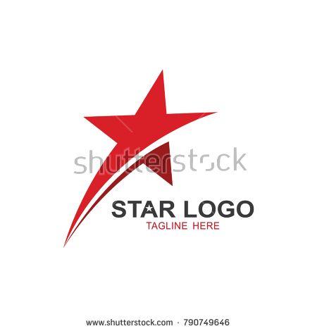 Star logo template. vector icon illustration Icônes vectorielles  Vector icons