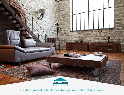 La déco industrielle dans votre maison  chic et tendance   - einrichtung im industriellen wohnstil ideen loftartiges ambiente