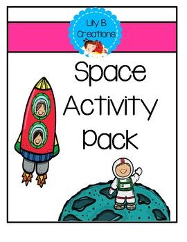 After School Activity Pack Space Theme Afterschool Activities Activity Pack Space Activities