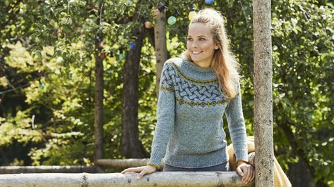 Der Herbst Kann Kommen Tanja Steinbach Strickt Einen Wunderschönen