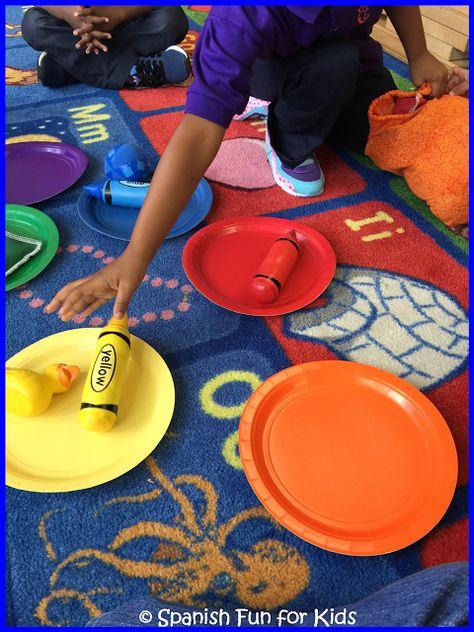 Music and Spanish Fun: Fun Ideas for Teaching Colors