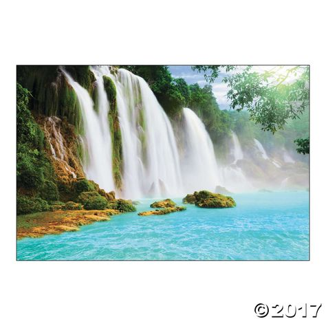 Waterfall Scene Backdrop