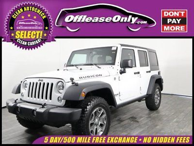 Ebay 2015 Jeep Wrangler Unlimited Rubicon Off Lease Only 2015