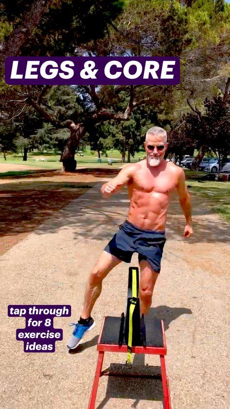 LEGS & CORE WORKOUT: 8 fun exercises